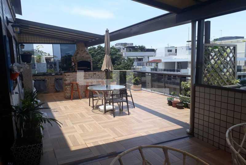 006 - Cobertura 3 quartos à venda Rio de Janeiro,RJ - R$ 950.000 - 01253CO - 7