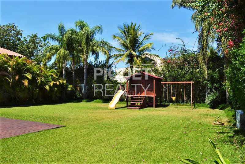 LAZER AMPLO - Casa em Condomínio 4 quartos à venda Rio de Janeiro,RJ - R$ 7.798.000 - 00147CA - 4