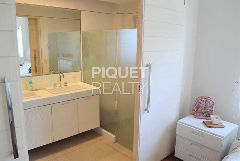 BANHEIRO SUITE - Casa em Condomínio 4 quartos à venda Rio de Janeiro,RJ - R$ 7.798.000 - 00147CA - 19