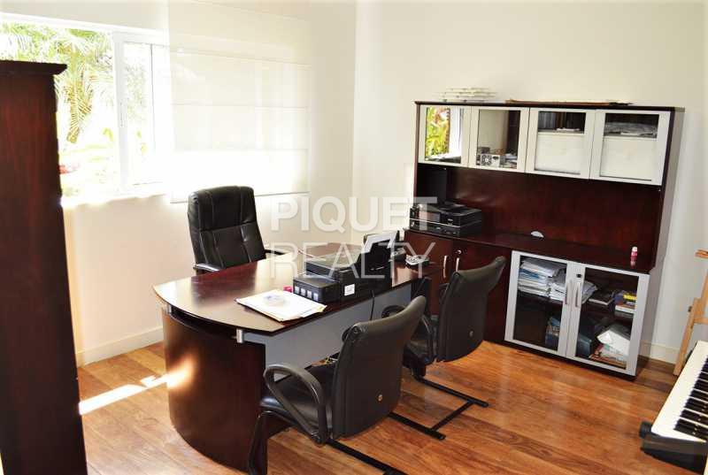 ESCRITÓRIO - Casa em Condomínio 4 quartos à venda Rio de Janeiro,RJ - R$ 7.798.000 - 00147CA - 24