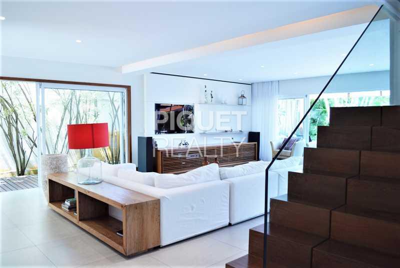 SALA AMPLA - Casa em Condomínio 4 quartos à venda Rio de Janeiro,RJ - R$ 7.798.000 - 00147CA - 25