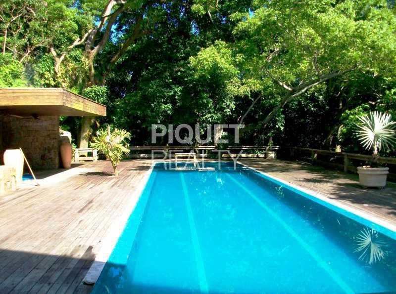 PISCINA - Casa em Condomínio 3 quartos à venda Rio de Janeiro,RJ - R$ 4.000.000 - 00011CA - 1
