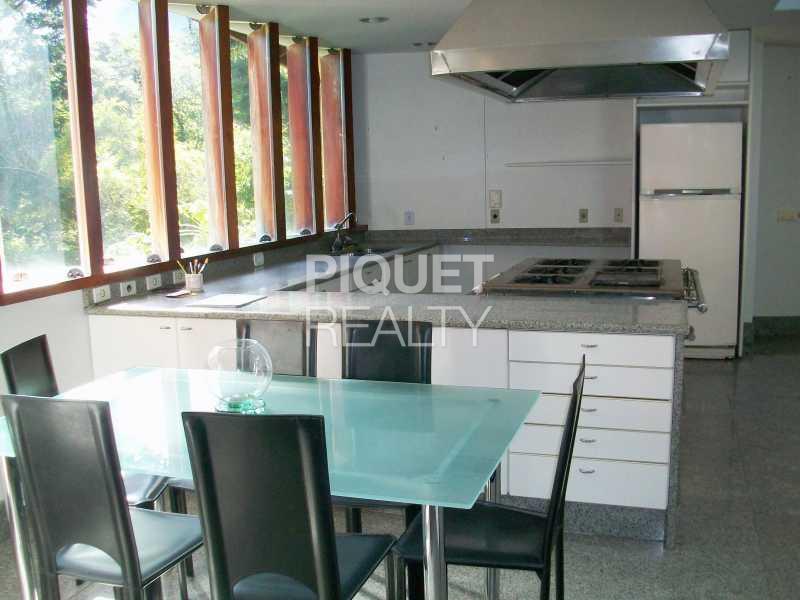 COZINHA - Casa em Condomínio 3 quartos à venda Rio de Janeiro,RJ - R$ 4.000.000 - 00011CA - 15