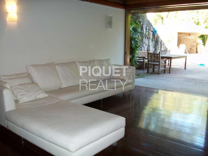 HOME THEATER - Casa em Condomínio 3 quartos à venda Rio de Janeiro,RJ - R$ 4.000.000 - 00011CA - 17