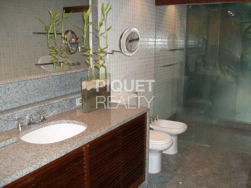 BANHEIRO SUITE - Casa em Condomínio 3 quartos à venda Rio de Janeiro,RJ - R$ 4.000.000 - 00011CA - 23