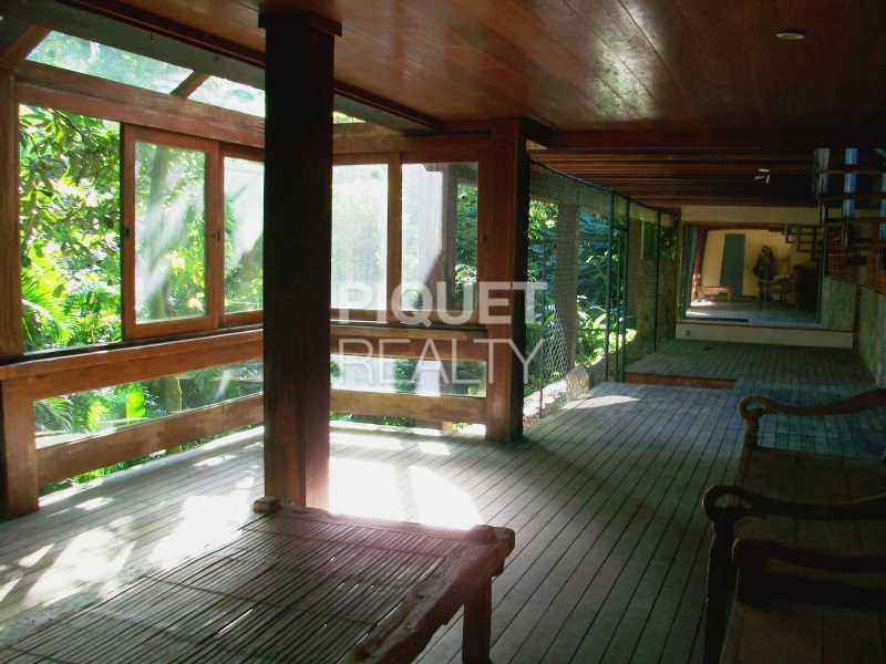 SUBSOLO - Casa em Condomínio 3 quartos à venda Rio de Janeiro,RJ - R$ 4.000.000 - 00011CA - 27