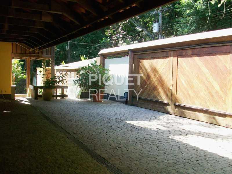 ENTRADA GARAGEM - Casa em Condomínio 3 quartos à venda Rio de Janeiro,RJ - R$ 4.000.000 - 00011CA - 28