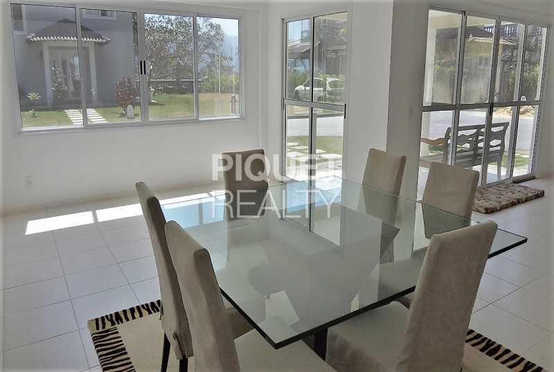 SALA DE JANTAR - Casa em Condomínio 5 quartos à venda Rio de Janeiro,RJ - R$ 1.500.000 - 00205CA - 8
