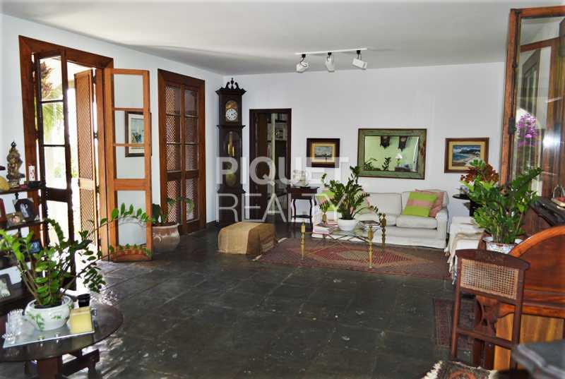 SALA - Casa em Condomínio 4 quartos à venda Rio de Janeiro,RJ - R$ 8.990.000 - 00215CA - 5