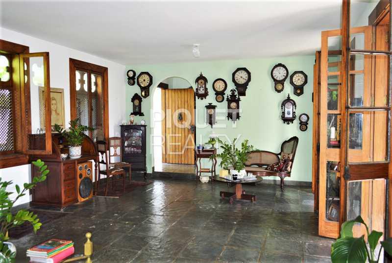 SALA - Casa em Condomínio 4 quartos à venda Rio de Janeiro,RJ - R$ 8.990.000 - 00215CA - 6