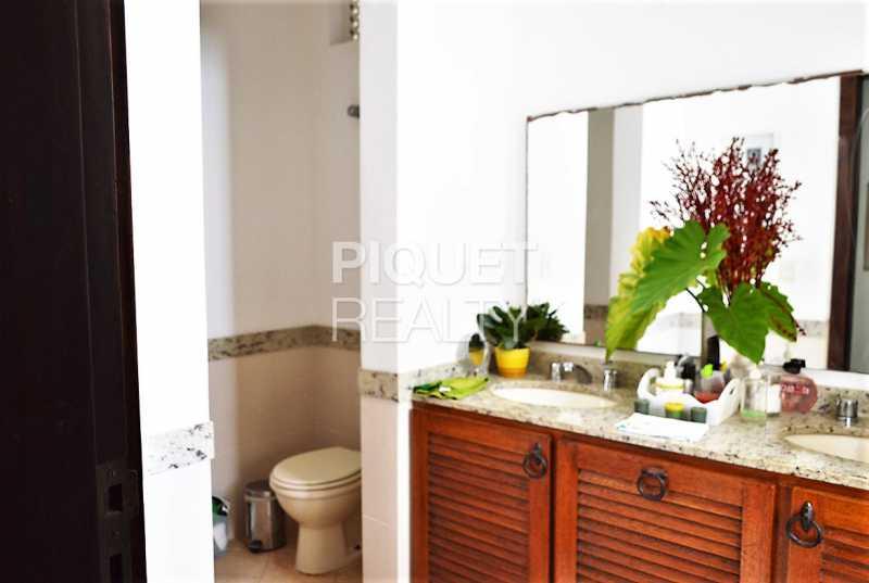 BANHEIRO - Casa em Condomínio 4 quartos à venda Rio de Janeiro,RJ - R$ 8.990.000 - 00215CA - 15