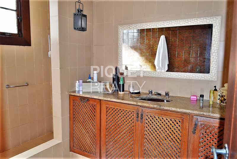 BANHEIRO - Casa em Condomínio 4 quartos à venda Rio de Janeiro,RJ - R$ 8.990.000 - 00215CA - 21