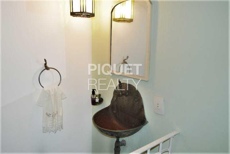 LAVABO - Casa em Condomínio 4 quartos à venda Rio de Janeiro,RJ - R$ 8.990.000 - 00215CA - 24