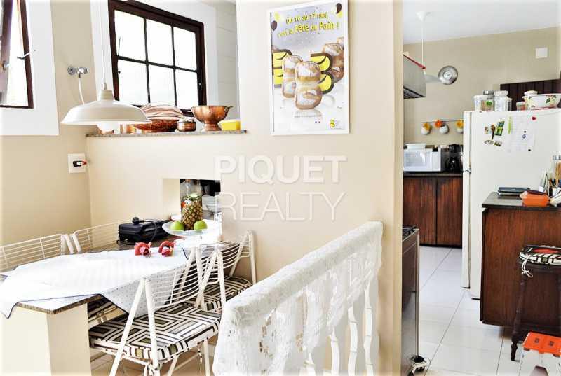 COZINHA - Casa em Condomínio 4 quartos à venda Rio de Janeiro,RJ - R$ 8.990.000 - 00215CA - 25