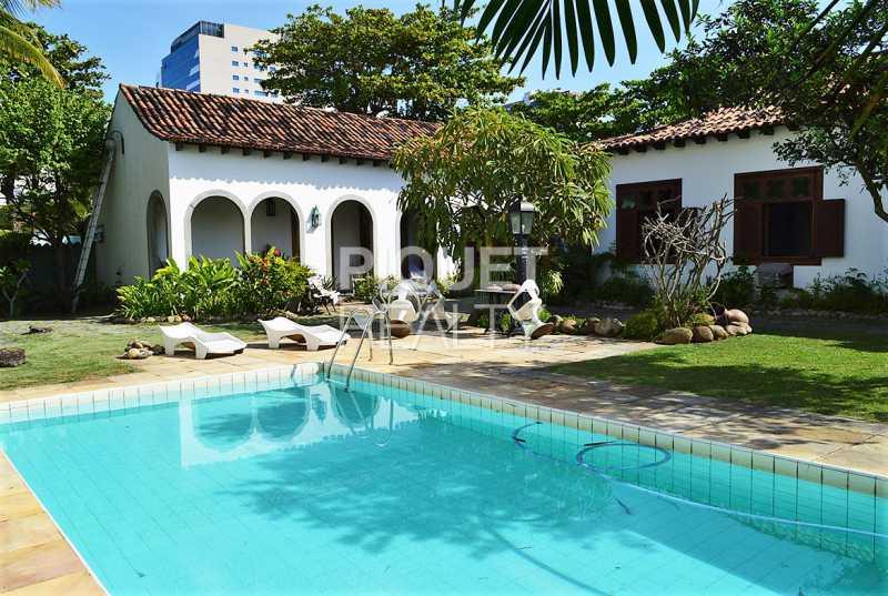 PISCINA FACHADA - Casa em Condomínio 4 quartos à venda Rio de Janeiro,RJ - R$ 8.990.000 - 00215CA - 3