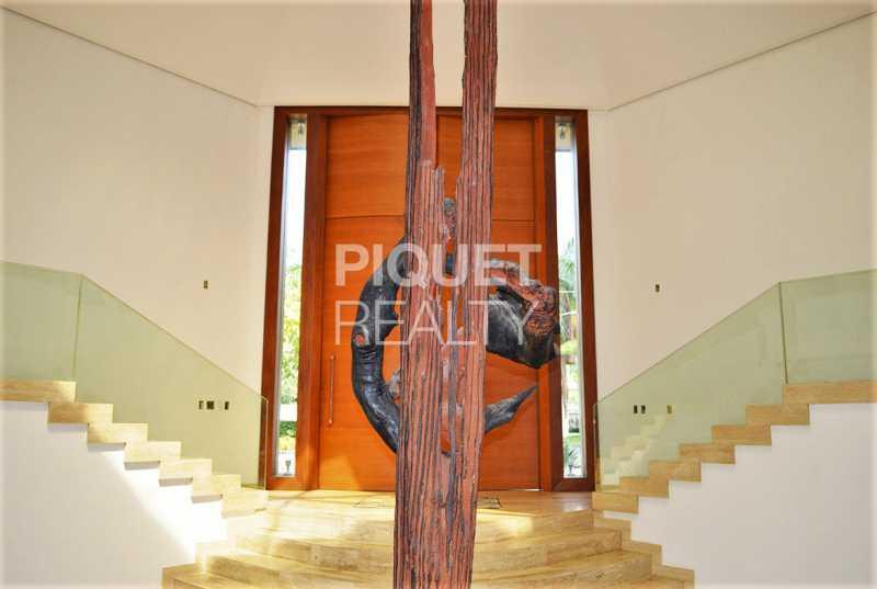 HALL DE ENTRADA - Casa em Condomínio 5 quartos à venda Rio de Janeiro,RJ - R$ 42.000.000 - 00080CA - 3