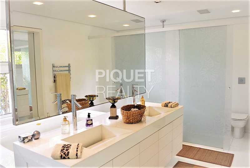 BANHEIRO - Casa em Condomínio 5 quartos à venda Rio de Janeiro,RJ - R$ 42.000.000 - 00080CA - 6