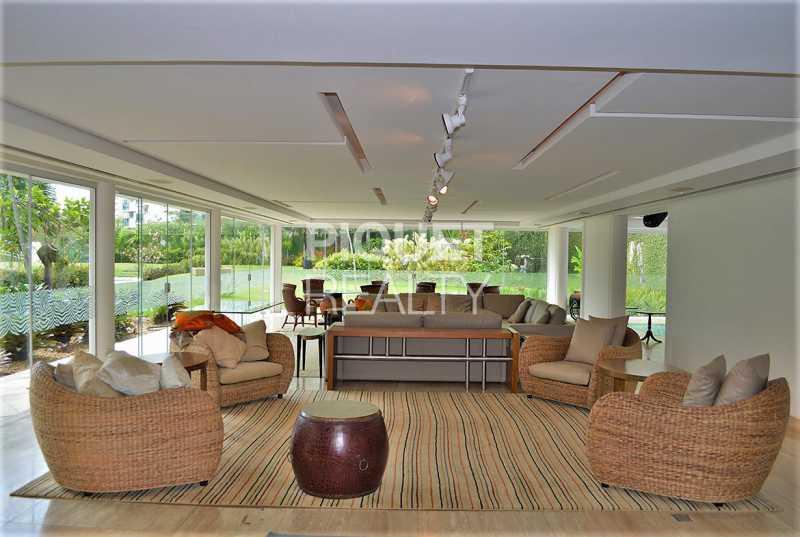 SALA - Casa em Condomínio 5 quartos à venda Rio de Janeiro,RJ - R$ 42.000.000 - 00080CA - 11