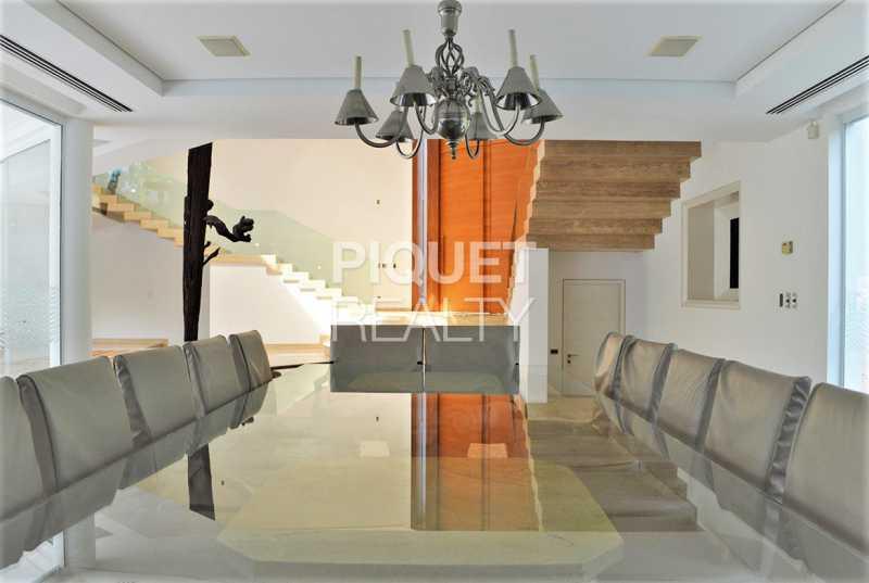 SALA DE JANTAR - Casa em Condomínio 5 quartos à venda Rio de Janeiro,RJ - R$ 42.000.000 - 00080CA - 12
