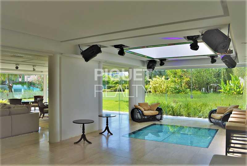 SALA - Casa em Condomínio 5 quartos à venda Rio de Janeiro,RJ - R$ 42.000.000 - 00080CA - 13