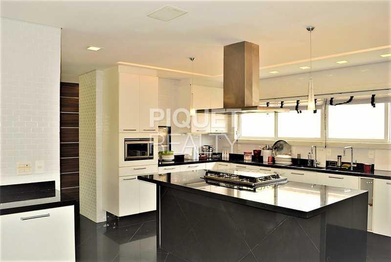 COZINHA - Casa em Condomínio 5 quartos à venda Rio de Janeiro,RJ - R$ 42.000.000 - 00080CA - 15