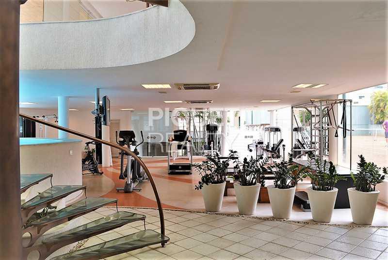 ACADEMIA - Casa em Condomínio 5 quartos à venda Rio de Janeiro,RJ - R$ 42.000.000 - 00080CA - 22