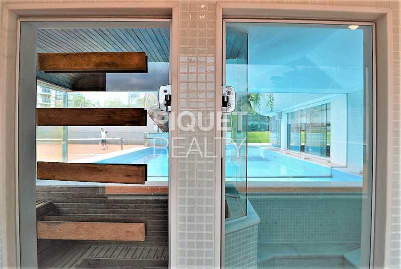 SAUNA - Casa em Condomínio 5 quartos à venda Rio de Janeiro,RJ - R$ 42.000.000 - 00080CA - 26
