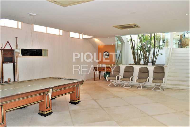 SALAO DE JOGOS - Casa em Condomínio 5 quartos à venda Rio de Janeiro,RJ - R$ 42.000.000 - 00080CA - 27