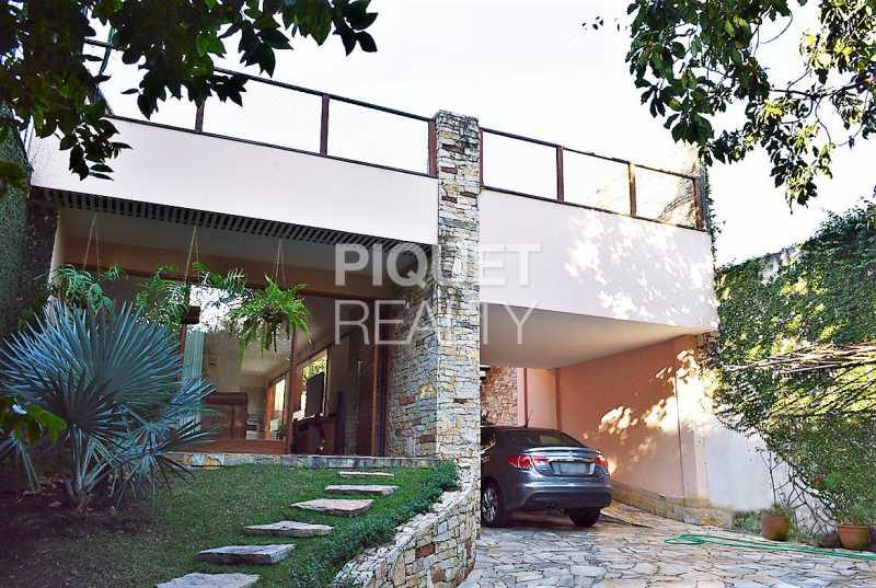 FACHADA - Casa À Venda - Rio de Janeiro - RJ - Barra da Tijuca - 00228CA - 4