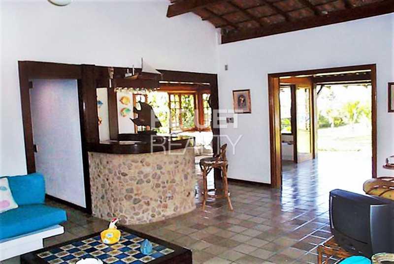 SALA EM 3 AMBIENTES - Casa em Condomínio 3 quartos à venda Angra dos Reis,RJ - R$ 3.290.000 - 00254CA - 11