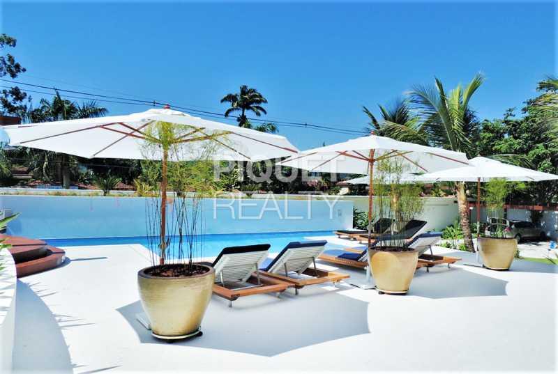 PISCINA - Casa 4 quartos para venda e aluguel Parati,RJ - R$ 10.999.000 - 00233CA - 5