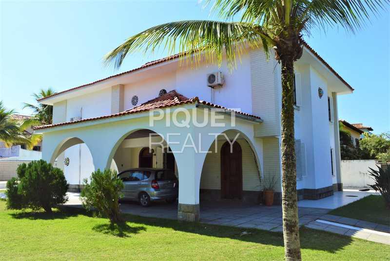 FACHADA - Casa em Condomínio 4 quartos à venda Rio de Janeiro,RJ - R$ 7.498.000 - 00184CA - 4