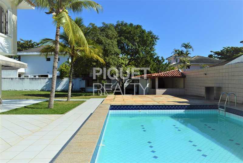 LAZER COMPLETO - Casa em Condomínio 4 quartos à venda Rio de Janeiro,RJ - R$ 7.498.000 - 00184CA - 3