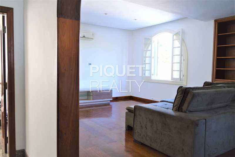 SALA - Casa em Condomínio 4 quartos à venda Rio de Janeiro,RJ - R$ 7.498.000 - 00184CA - 9