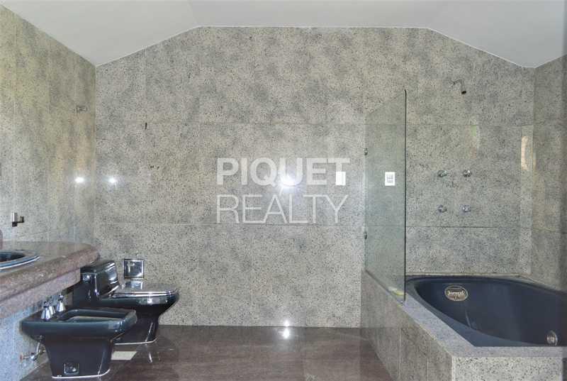 BANHEIRO - Casa em Condomínio 4 quartos à venda Rio de Janeiro,RJ - R$ 7.498.000 - 00184CA - 19
