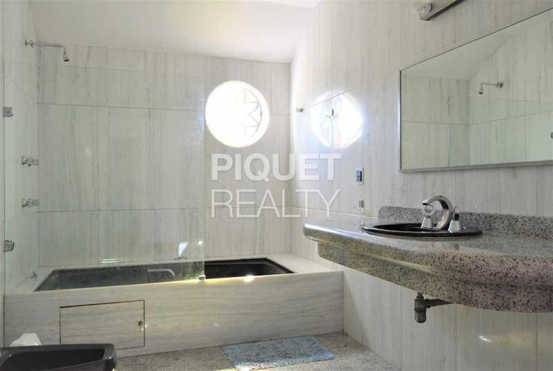 BANHEIRO - Casa em Condomínio 4 quartos à venda Rio de Janeiro,RJ - R$ 7.498.000 - 00184CA - 22