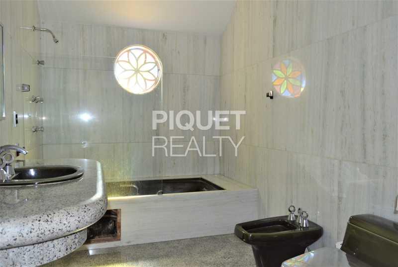 BANHEIRO - Casa em Condomínio 4 quartos à venda Rio de Janeiro,RJ - R$ 7.498.000 - 00184CA - 23