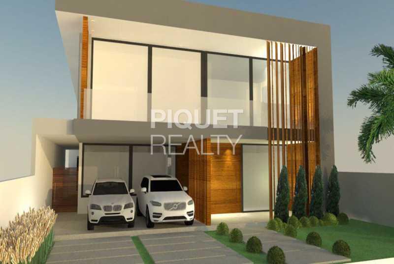 FACHADA PROJETO - Casa em Condomínio 5 quartos à venda Rio de Janeiro,RJ - R$ 5.890.000 - 00216CA - 5