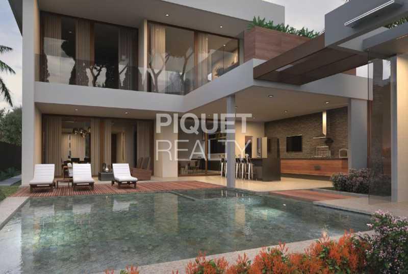 FACHADA FUNDOS - Casa em Condomínio 5 quartos à venda Rio de Janeiro,RJ - R$ 5.890.000 - 00216CA - 4