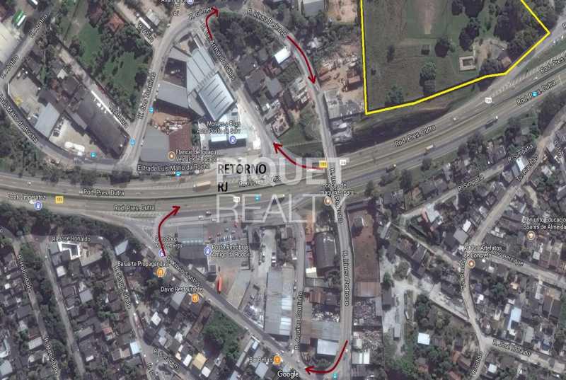 RETORNO PARA RJ KM185 - Terreno 23000m² à venda Nova Iguaçu,RJ - R$ 7.999.000 - 00259TE - 6