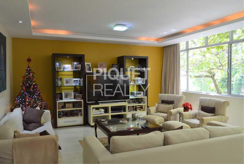 SALA DE ESTAR / TV - Apartamento 4 quartos à venda Rio de Janeiro,RJ - R$ 6.199.000 - 00269AP - 4