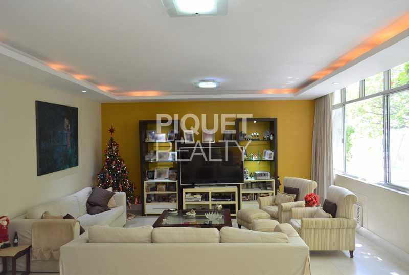 SALA DE ESTAR AMPLA - Apartamento 4 quartos à venda Rio de Janeiro,RJ - R$ 6.199.000 - 00269AP - 6