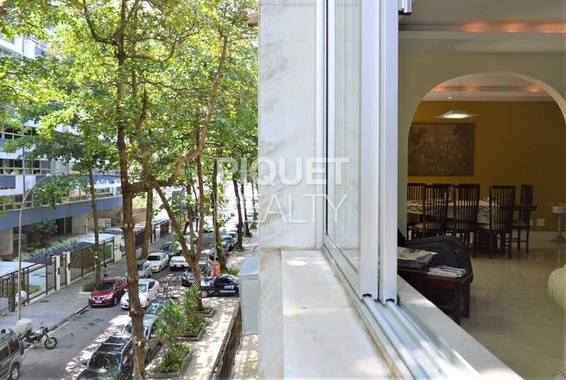 VISTA PRAIA JANELA DA SALA - Apartamento 4 quartos à venda Rio de Janeiro,RJ - R$ 6.199.000 - 00269AP - 1