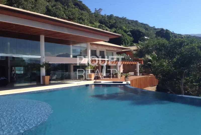 FACHADA - Casa À Venda no Condomínio Caieirinha - Angra dos Reis - RJ - Pontal (Cunhambebe) - 00270CA - 1