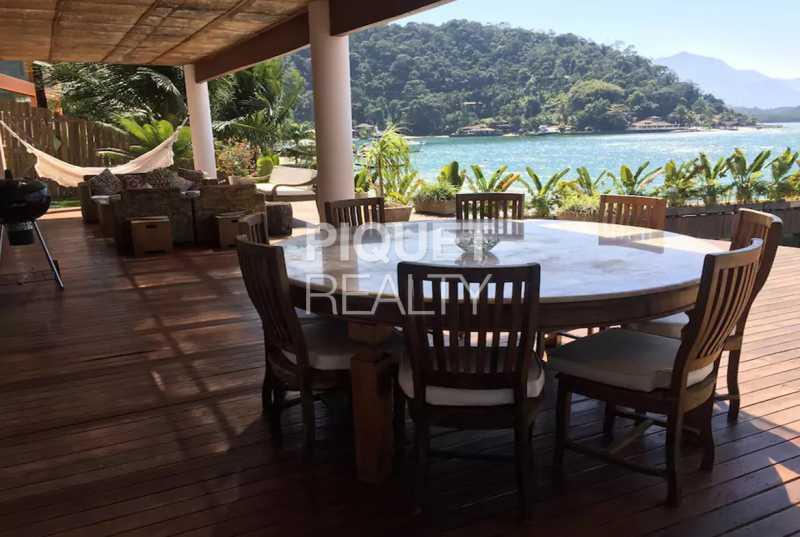 VARANDÃO - Casa À Venda no Condomínio Caieirinha - Angra dos Reis - RJ - Pontal (Cunhambebe) - 00270CA - 7