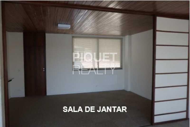 SALA DE JANTAR - Cobertura 4 quartos à venda Rio de Janeiro,RJ - R$ 5.900.000 - 00300CO - 19