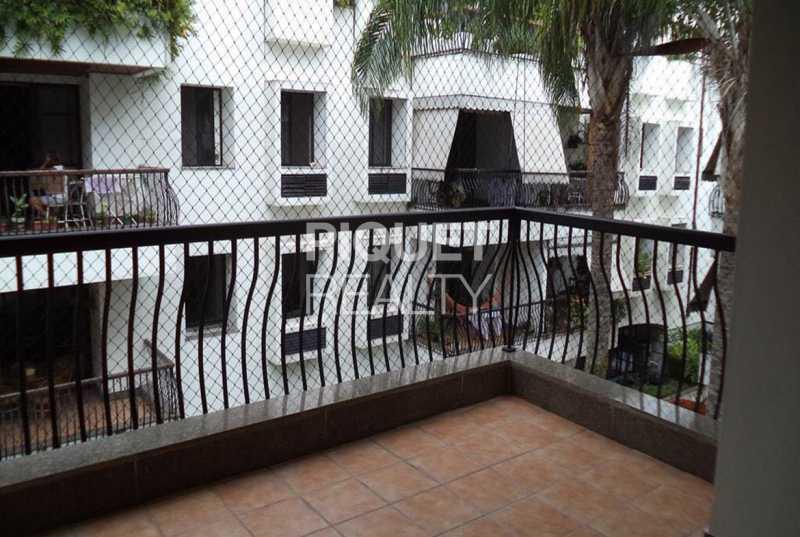 VARANDA - Apartamento 2 quartos à venda Rio de Janeiro,RJ - R$ 749.000 - 00158AP - 1