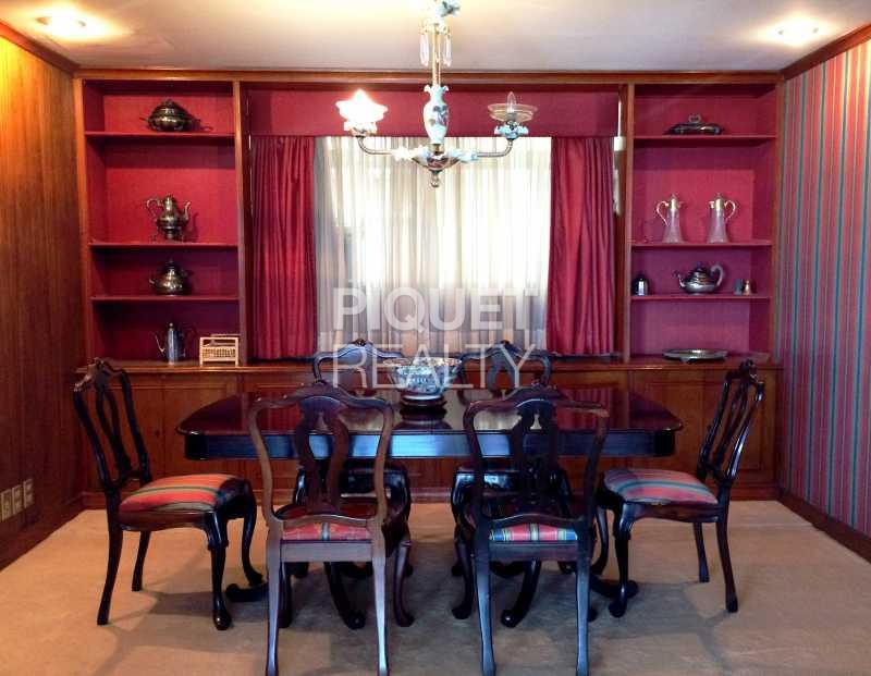 SALA DE JANTAR - Apartamento 3 quartos à venda Rio de Janeiro,RJ - R$ 9.890.000 - 00029AP - 13