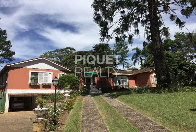FACHADA - Casa 4 quartos à venda Teresópolis,RJ - R$ 2.000.000 - 00343CA - 4