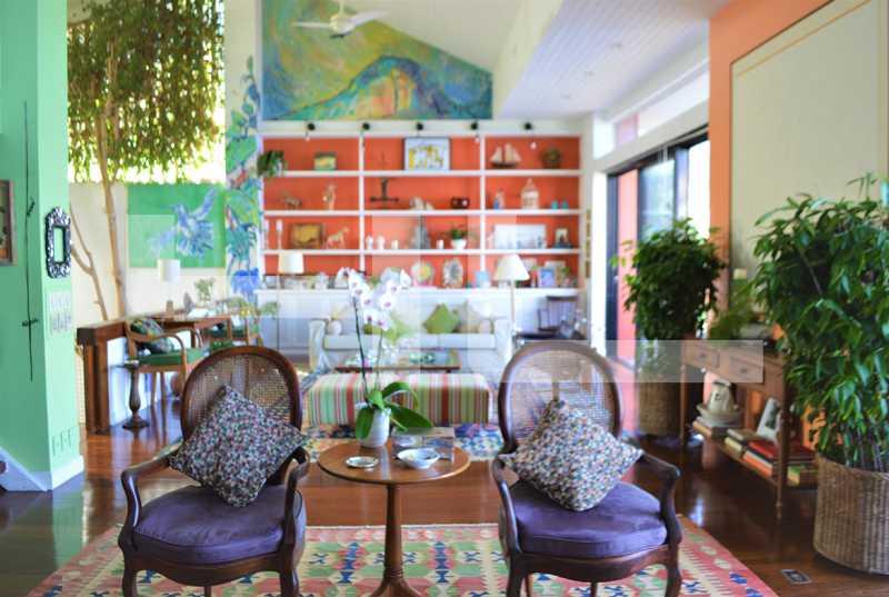 SALA - Casa em Condomínio 3 quartos à venda Rio de Janeiro,RJ - R$ 4.999.000 - 00360CA - 5